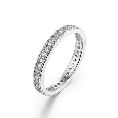 925 sterling silver cubic zirconia womens rings