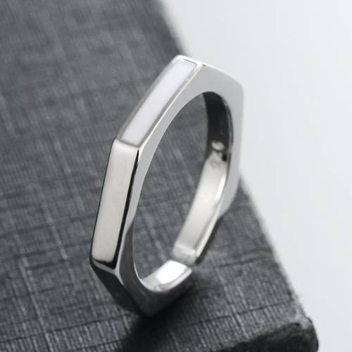 925 sterling silver simple  rings for daily wear