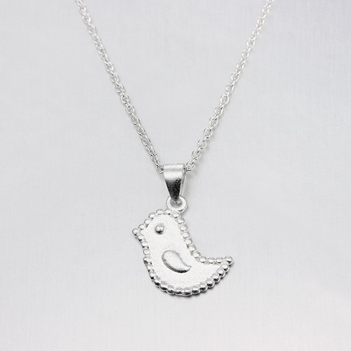 925 sterling silver bird pendants