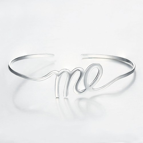 925 sterling silver ME bangle