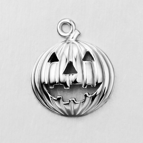 925 sterling silver Halloween pumpkin pendant charms