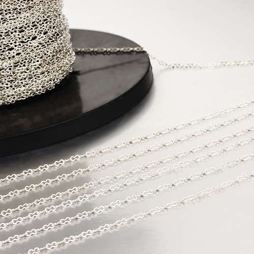 925 sterling silver 1.85MM 8  diy jewelry chains