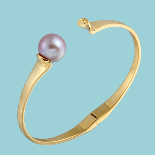 925 sterling silver pearl cuff bangle findings