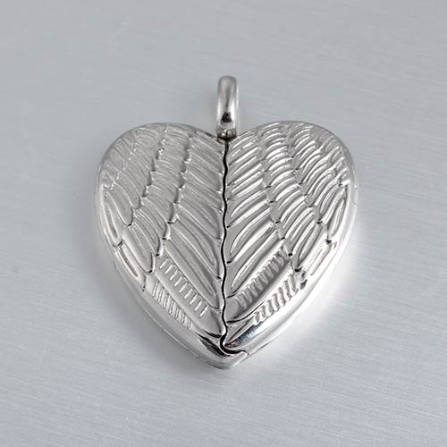 925 sterling silver heart locket