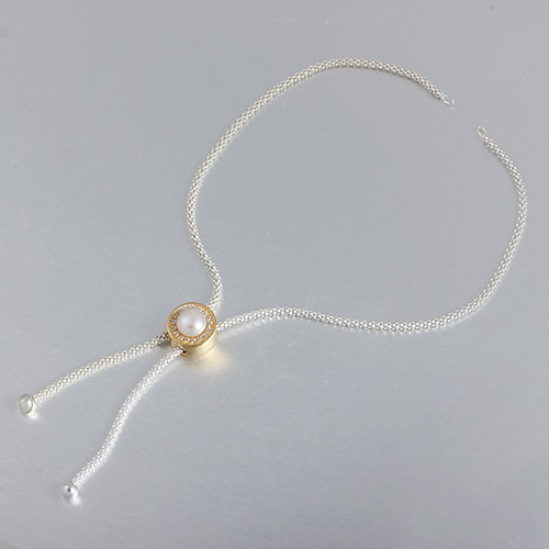 925 sterling silver adjustable pearl bracelet finding