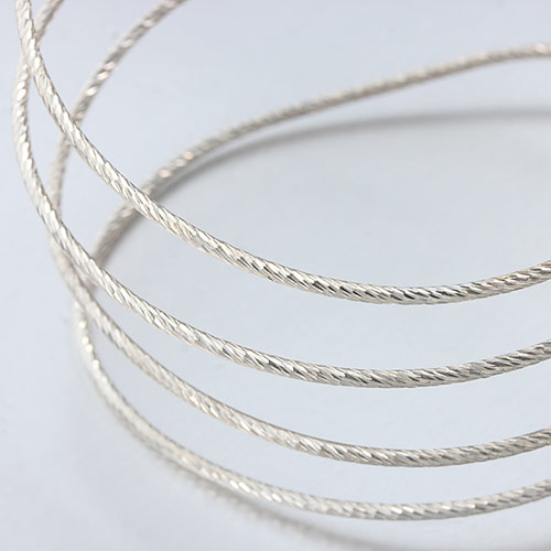 925 sterling silver twill cutting wires -0.6mm