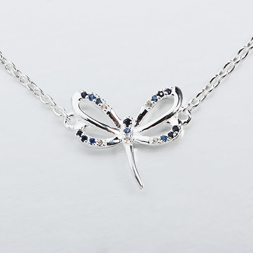 925 sterling silver gemstone butterfly bracelet