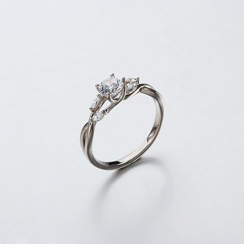 925 sterling silver cz engagement rings