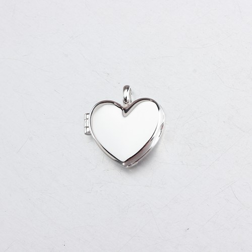 Wholesale 925 sterling silver heart locket pendant