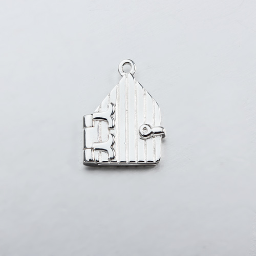 925 sterling silver book charm